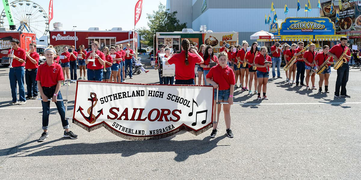 Marching Band Marquee