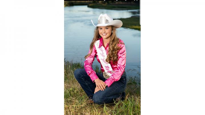 Brylee Thompson is the 15 year old daughter of Lucas & Brandi Anderson and Mark & Hanna McConnell. Brylee calls Hershey Nebraska Home .She will be a sophomore this fall at Hershey public schools. She loves to spend her time riding in her 4-h group and barrel racing. Brylee's life goal is to spread kindness, and find the positive in all aspects of life.