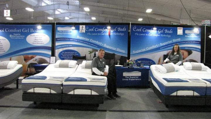 Beds for Less Pinnacle Expo Building