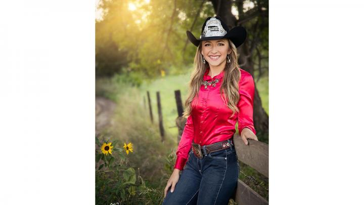 Your Miss Rodeo Nebraska 2019 is Eva Oliver. She calls Merriman home, where she lives with her parents Chuck and Stacie Oliver.     Eva graduated from Cody-Kilgore High School in 2016. She then went on to continue her education at Nebraska College of Technical Agriculture in Curtis, Nebraska. While in college, Eva was a part of the Ranch Horse team, Women in Agriculture, Collegiate Cattlemen, intramural sports, STVMA and Phi Theta Kappa.