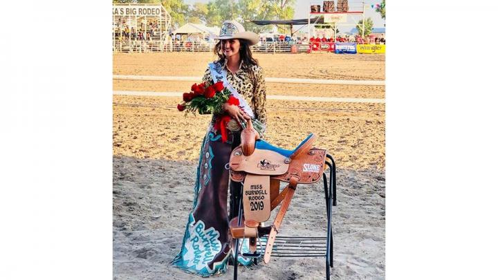 The 2019 Miss Burwell Rodeo is Halee Kohmetscher. She hails from Lawrence, Ne where she is the 19 year old daughter of Duane & the late Laurie Kohmetscher. She is a sophomore at Northeast Community College where she studies Animal Science.