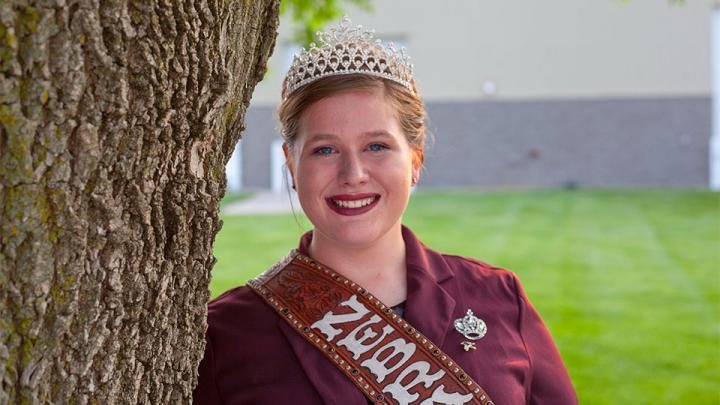 My name is Hannah Pearson and I am the Nebraska Hereford Queen. Below is my short biography and head shot. This is to go with my registration that I summit online.     Hannah Pearson is the 2019 Nebraska Hereford Queen. She is the daughter of Wade and Michelle Pearson. She is a freshman at Texas Texh University majoring in agriculture communications. In her free time she enjoys working with her Hereford Heifers and is active in 4-H and The Junior Hereford Association.