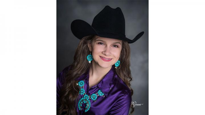 Jaelyn Himmelberg is the 13 year old daughter of John and Cassandra Himmelberg of Lawrence, Nebraska.  Jaelyn will be in the 8th grade this Fall at Blue Hill Community School where she is on the High Honor roll, president of her 8th grade class and Junior High FFA Chapter, she is active in FBLA, Quiz Bowl, band, cheer, volleyball, basketball, and track.  Her other hobbies include: dance, violin, guitar, piano, sewing, reading, archery and camping.