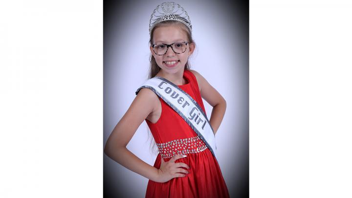 Kaelyn was just crowned in June 2019 as the Miss Nebraska State Cover Girl for National American Miss. She is a 6th grader at Oakland Elementary and loves to read, dance and spend time with her family and friends.  Ambitions...Runway modeling and Fashion Design!
