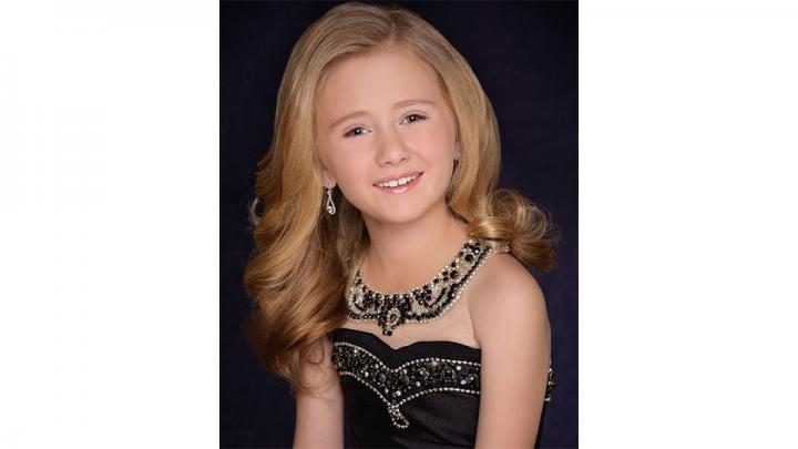 Melodee Spady, Pure International Little Miss Cornhusker 2019 promotes kindness, one small act of kindness at a time. She is a third grader at Hastings Hawthorne School, As a super volunteer she helps at Start Over Rover, delivers Meals on Wheels, and is a volunteer for Kool Aid Days. She placed 2nd runner up at the National Pageant in Orlando, FL.
